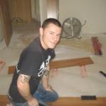 Danny Badgett, Construction volunteer